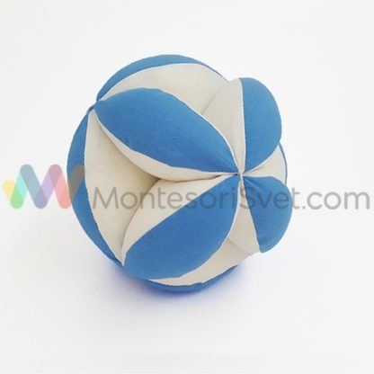 montesori-lopta-plavo-bela