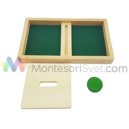 montesori-tacna-sa-pregradom-i-diskom-zelene-boje