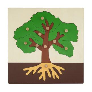 montessori puzzle tree