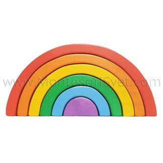Grimm's wooden rainbow