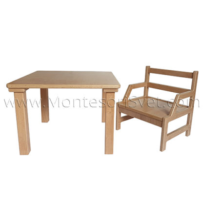 montessori-table-and-chair