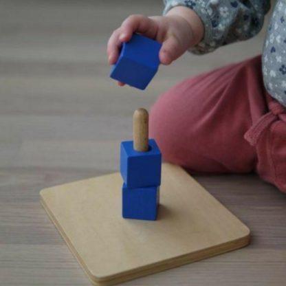 montessori-cubes-on-vertical-dowel