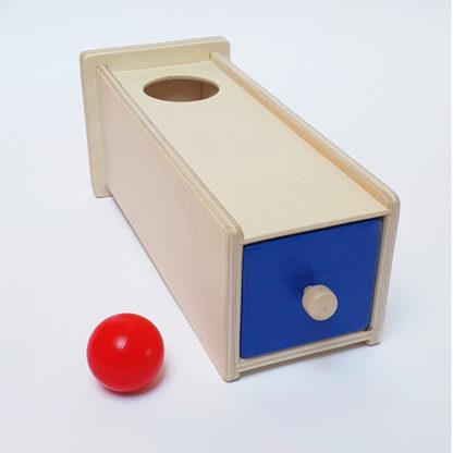 montessori object permamence box