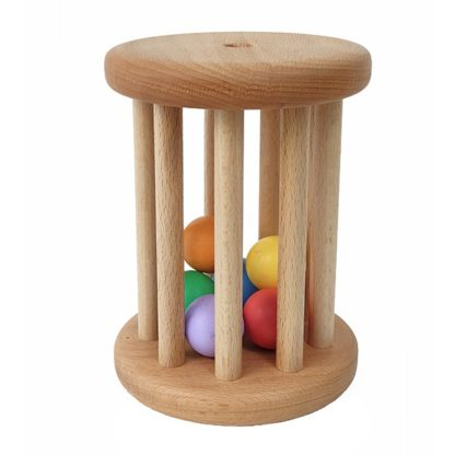 montessori rolling ball cylinder